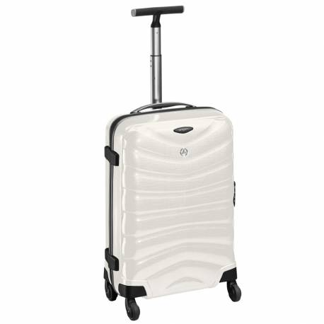 Suitcase, Spinner 55, White